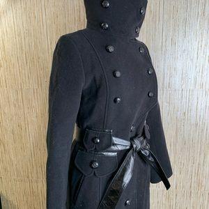 Mackage Wool A-line coat, feminine, stylish, XS